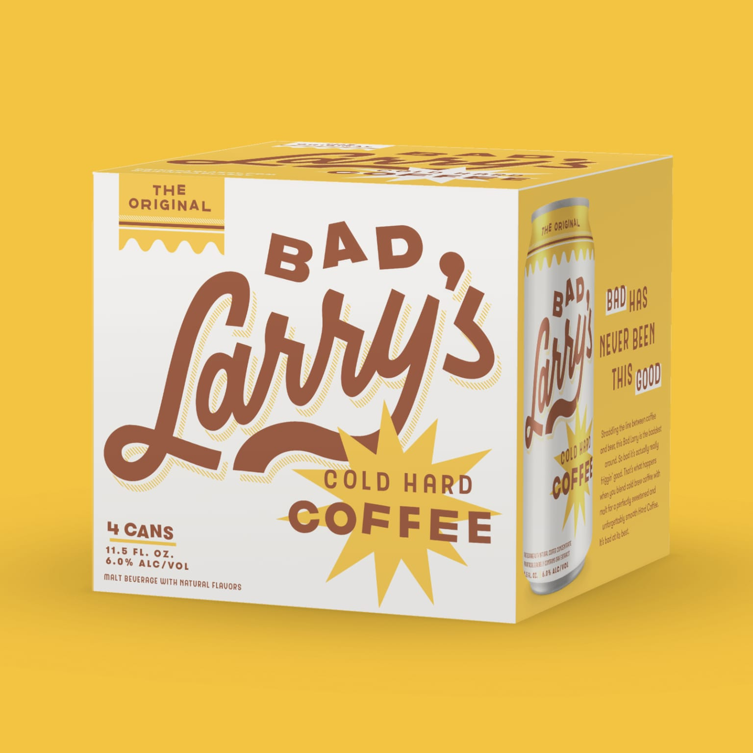 Bad Larry's Identity and Packaging