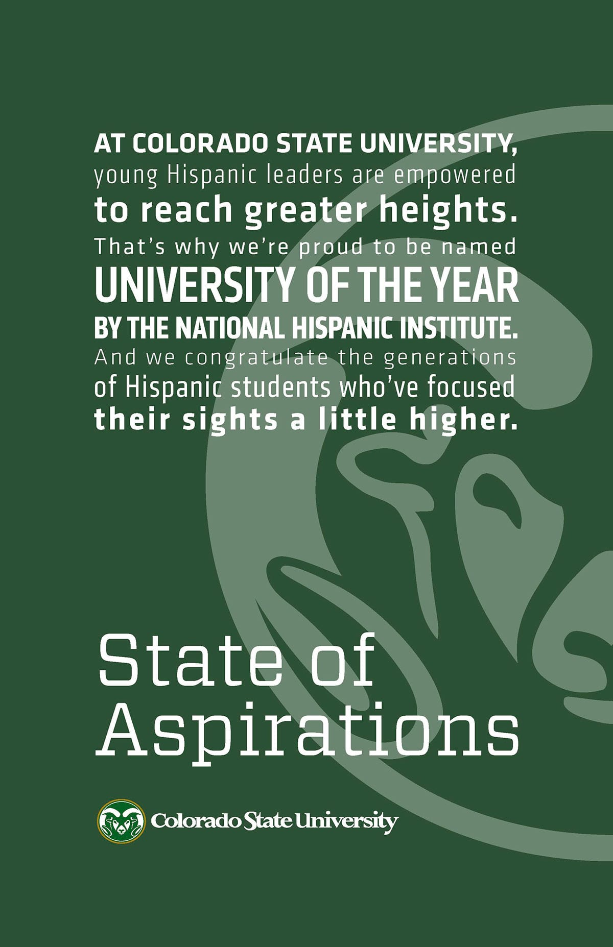University of the Year Poster