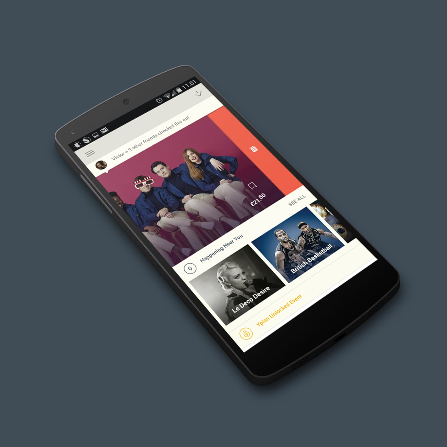 YPlan Android App