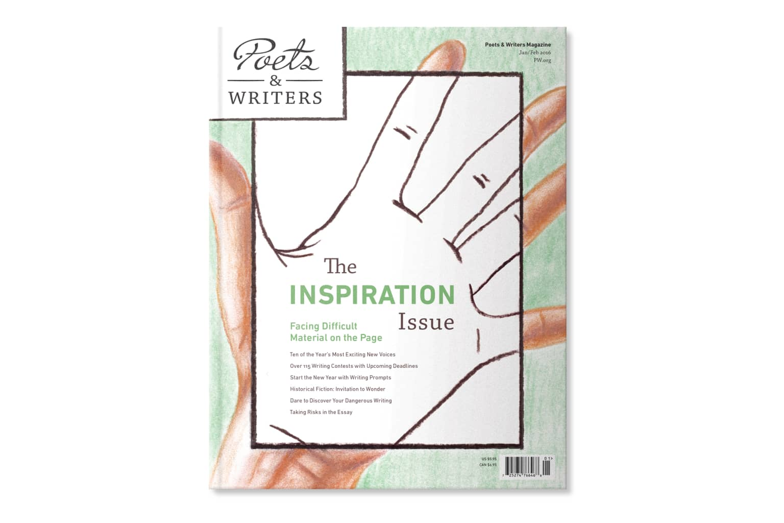 Poets & Writers Magazine: The Inspiration Issue