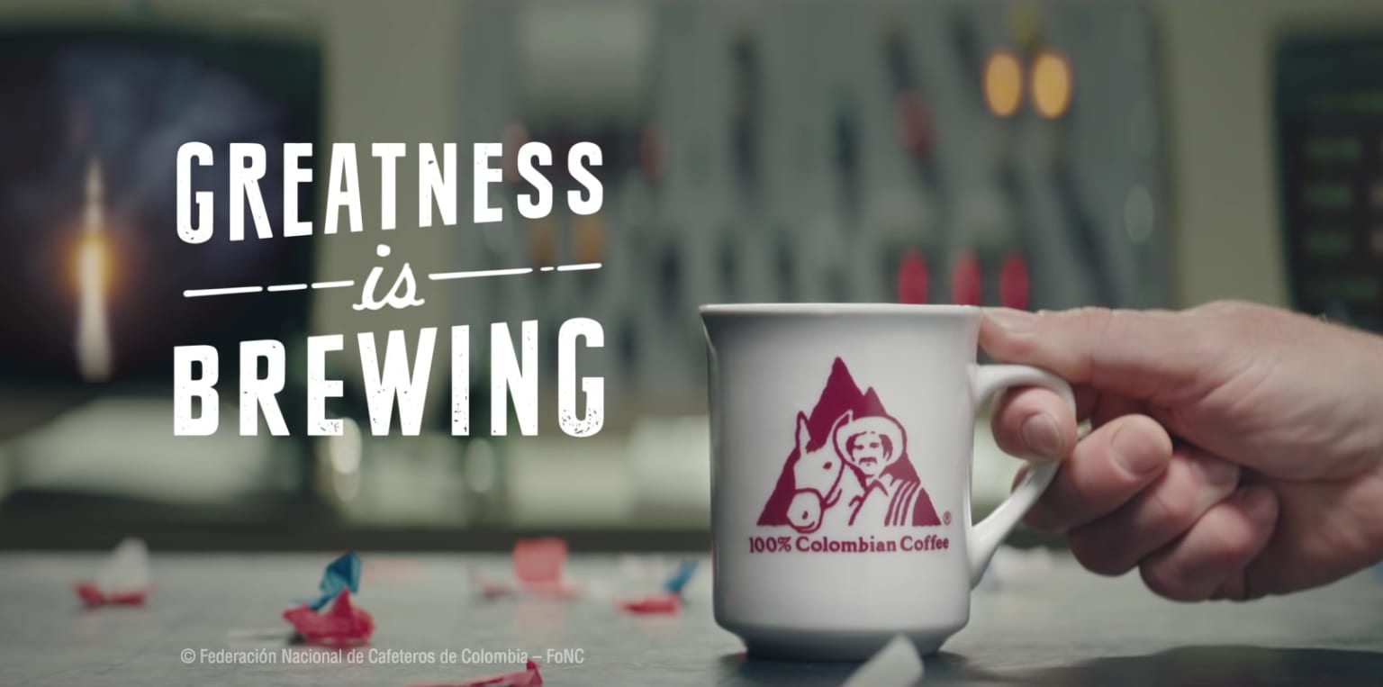 Cafe de Colombia - Greatness is Brewing