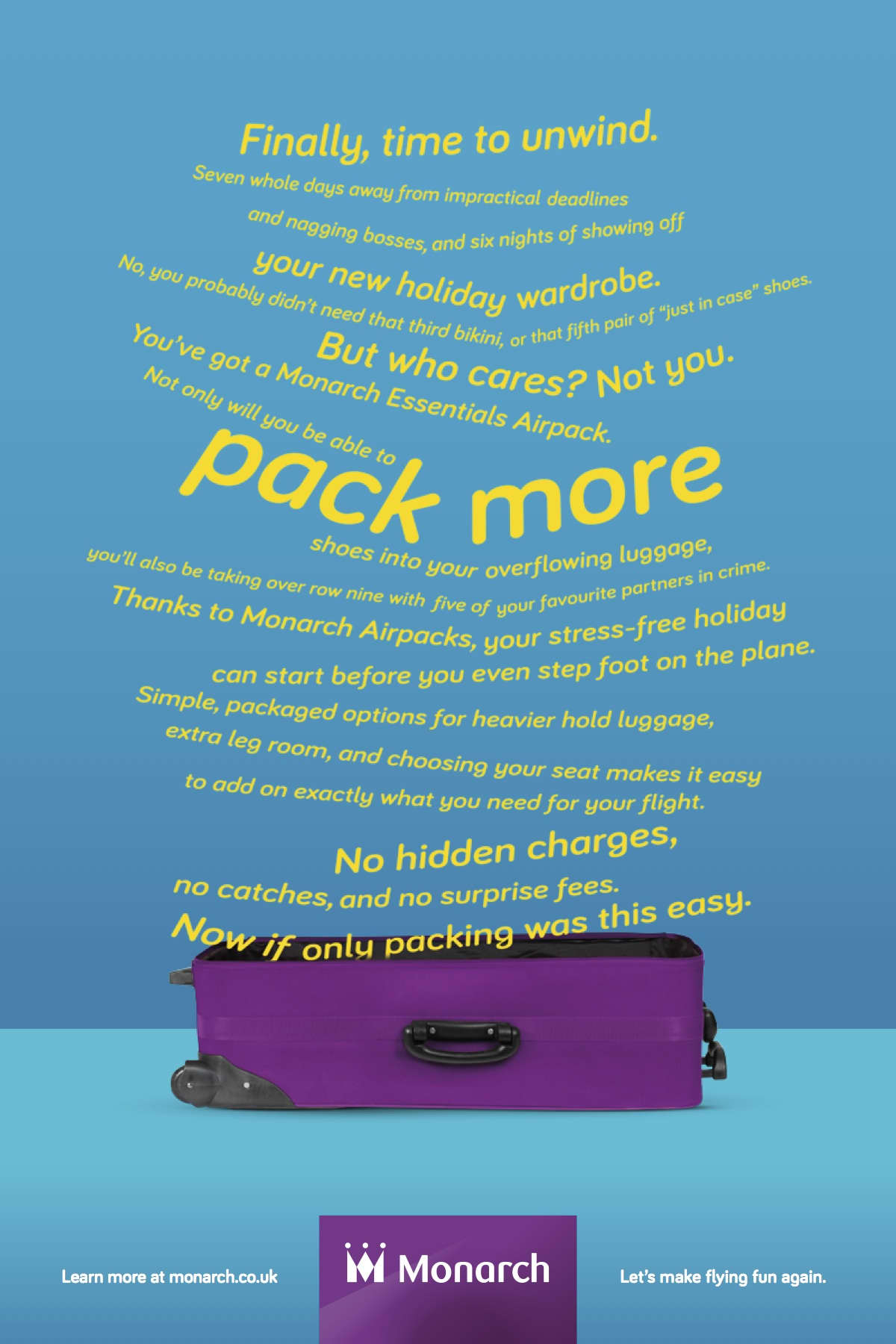 Monarch Airlines Airpacks