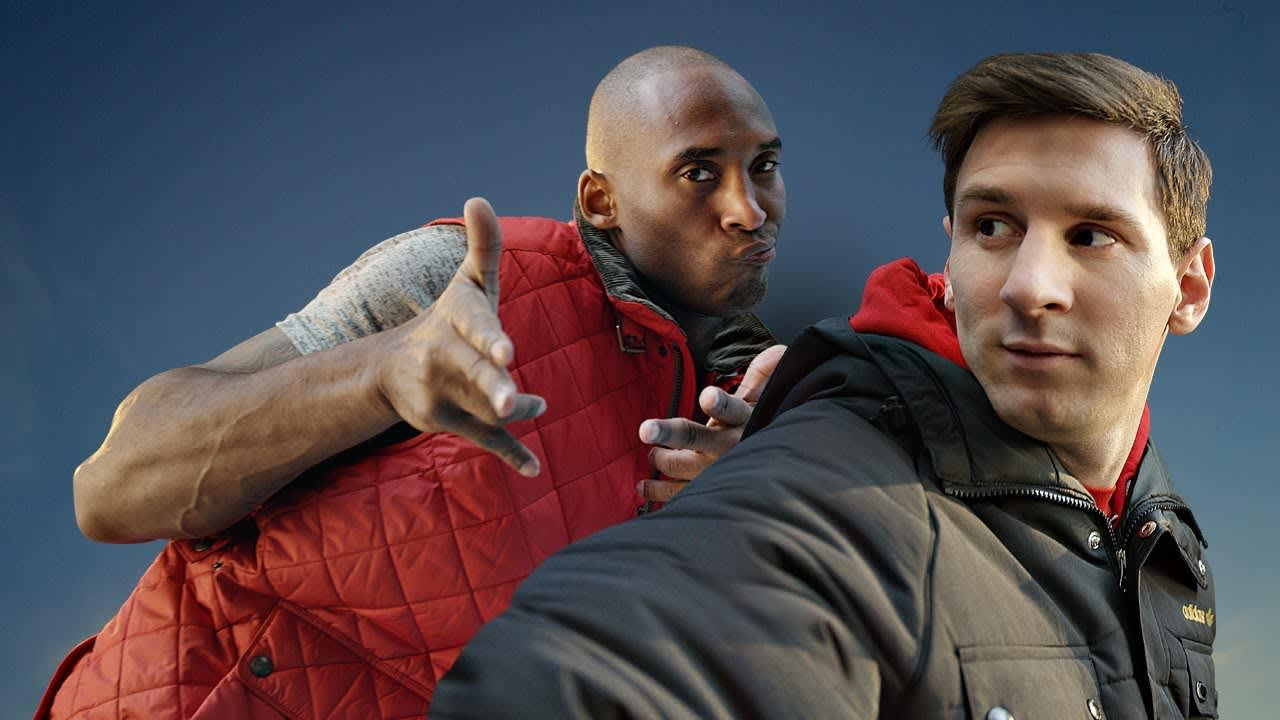 Kobe v Messi: The Selfie Shootout