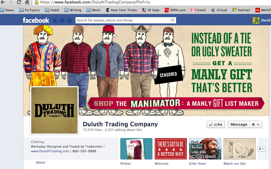 Duluth Trading Company Holiday Campaign