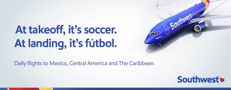 Southwest Airlines Copa America Campaign
