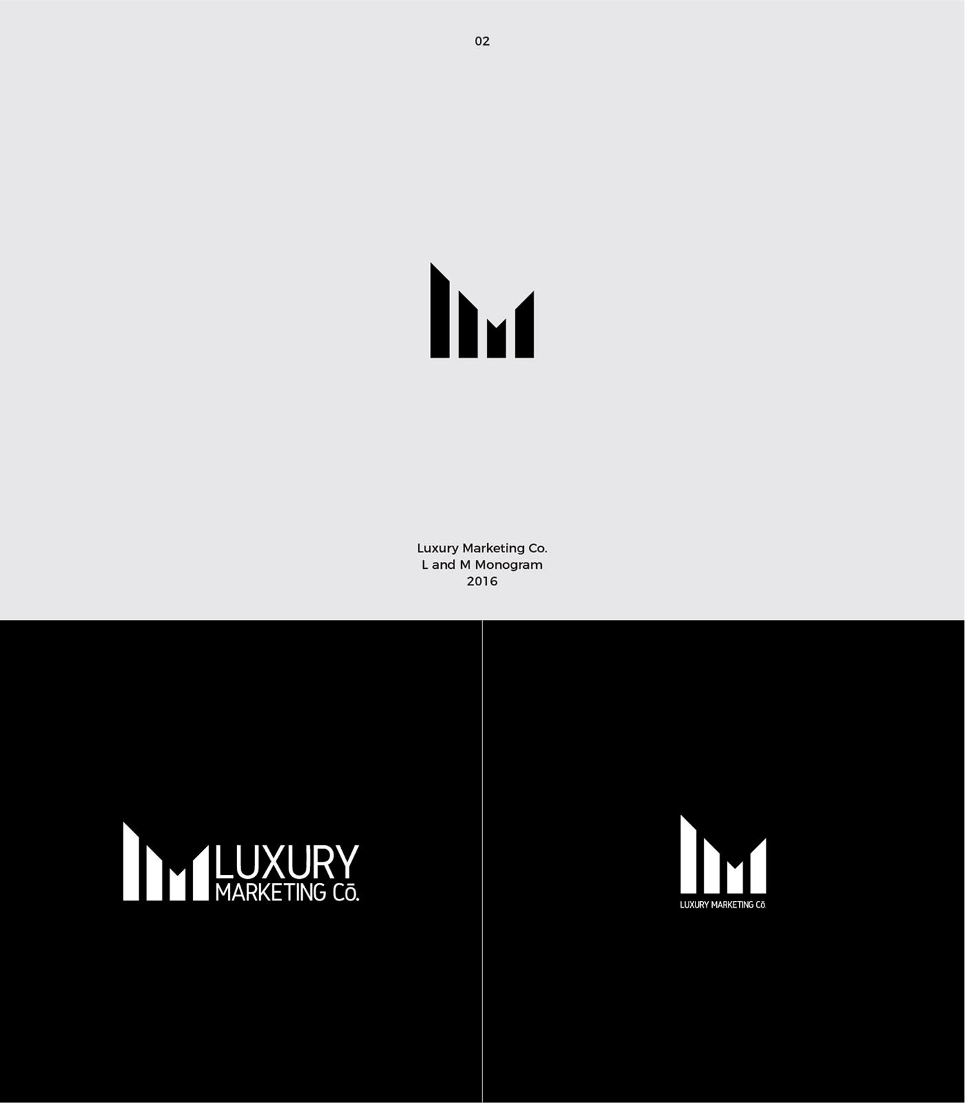 Logo and Branding for Luxury Marketing Co.