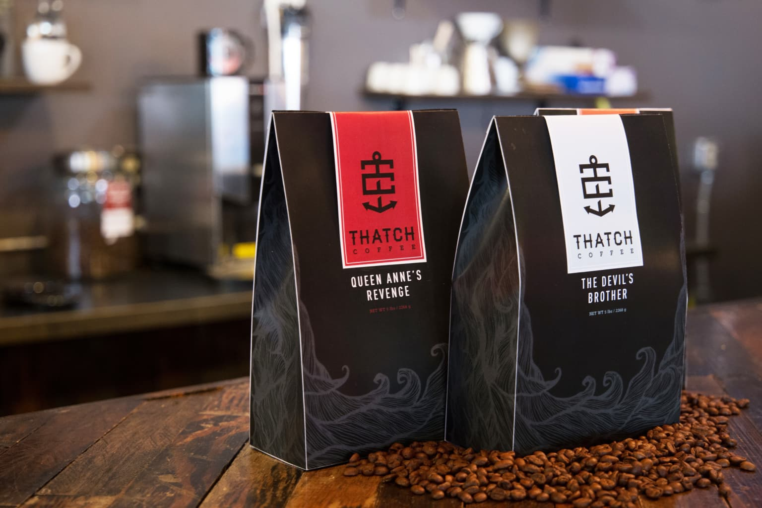 Thatch Coffee Roasters Brand Identity