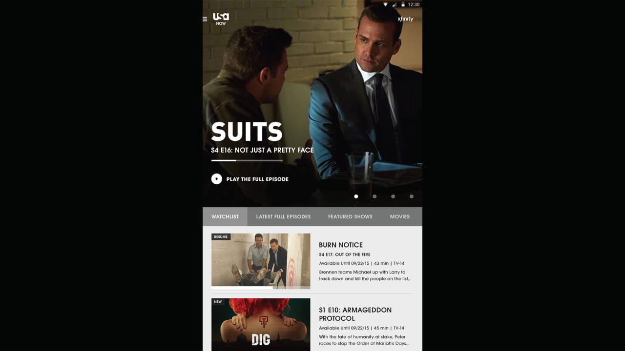 NBC Universal TV Anywhere Digital Product Suite