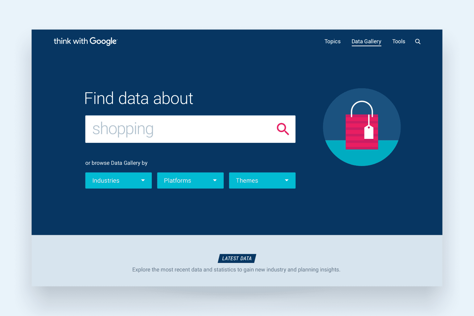 Think with Google — Data Gallery