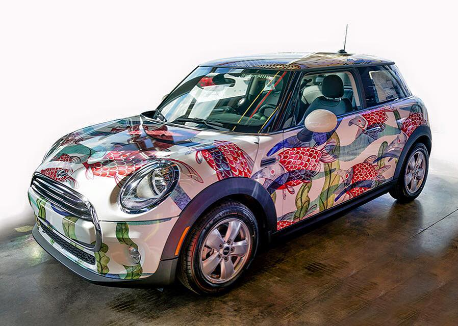 Salmon Run Car Wrap
