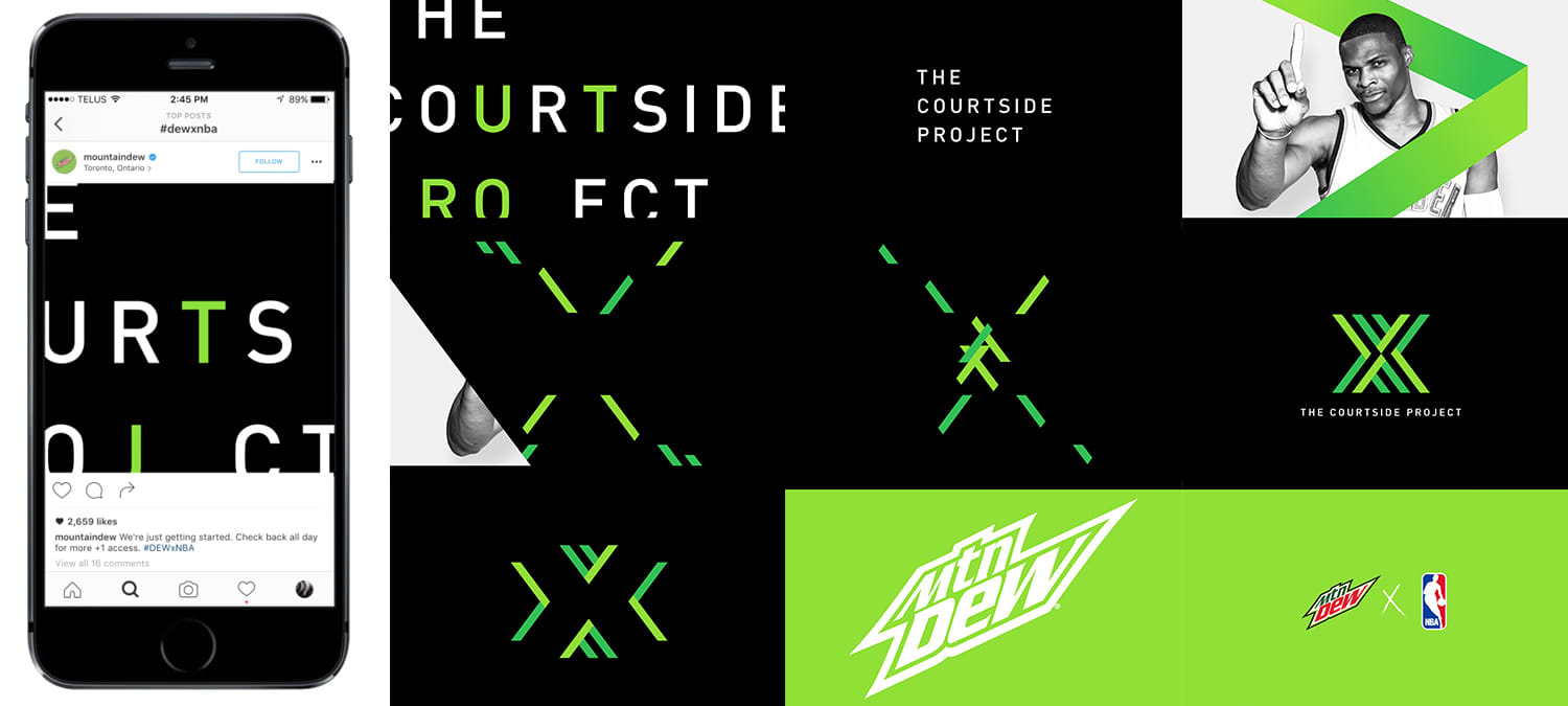 Mtn. Dew - The Courtside Project