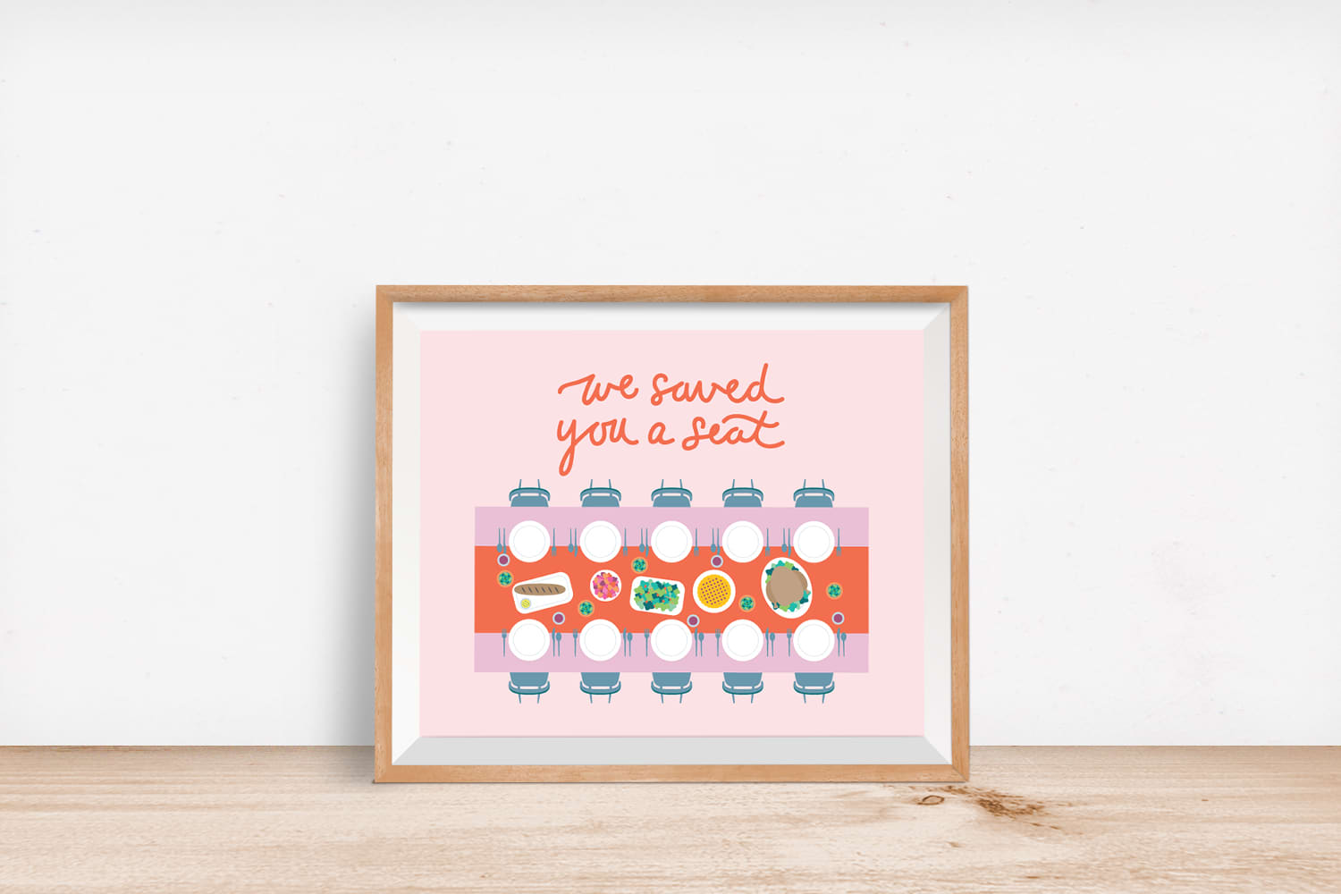We Saved You A Seat Prints