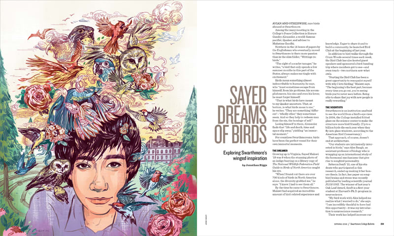 Sayed Dreams of Birds | Swarthmore College