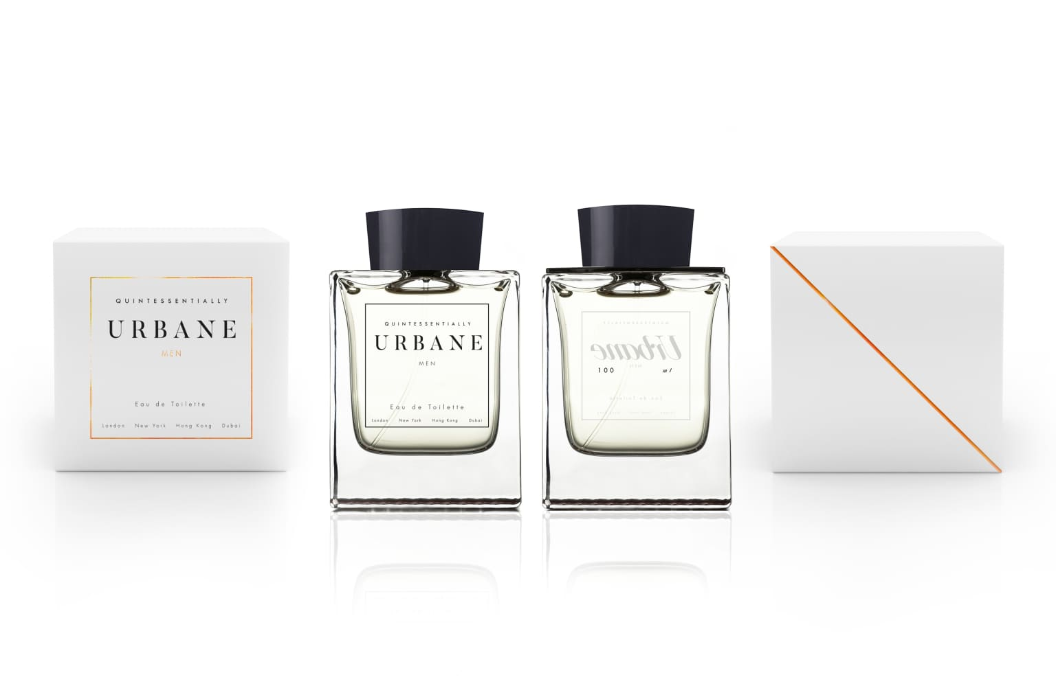 Urbane - Perfume branding, graphics and packaging design