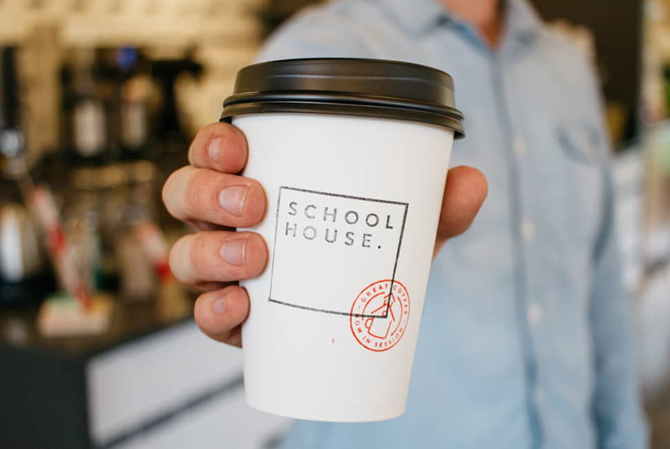 Schoolhouse Coffee Branding