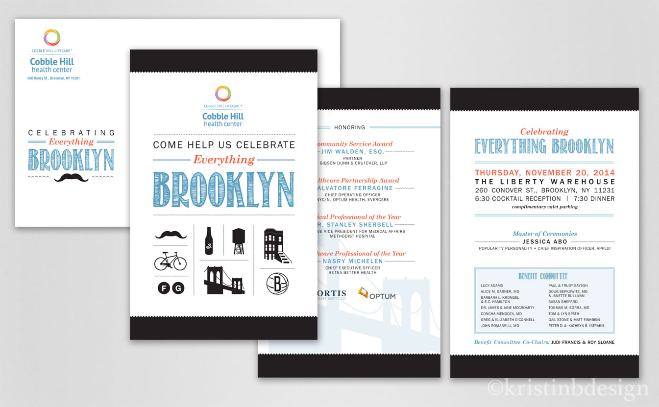 Cobble Hill Event Collateral