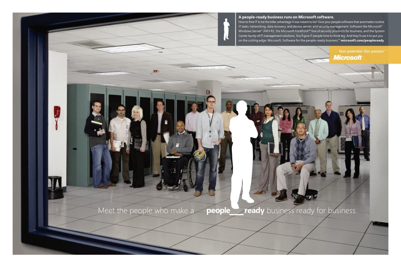 Microsoft people_ready campaign