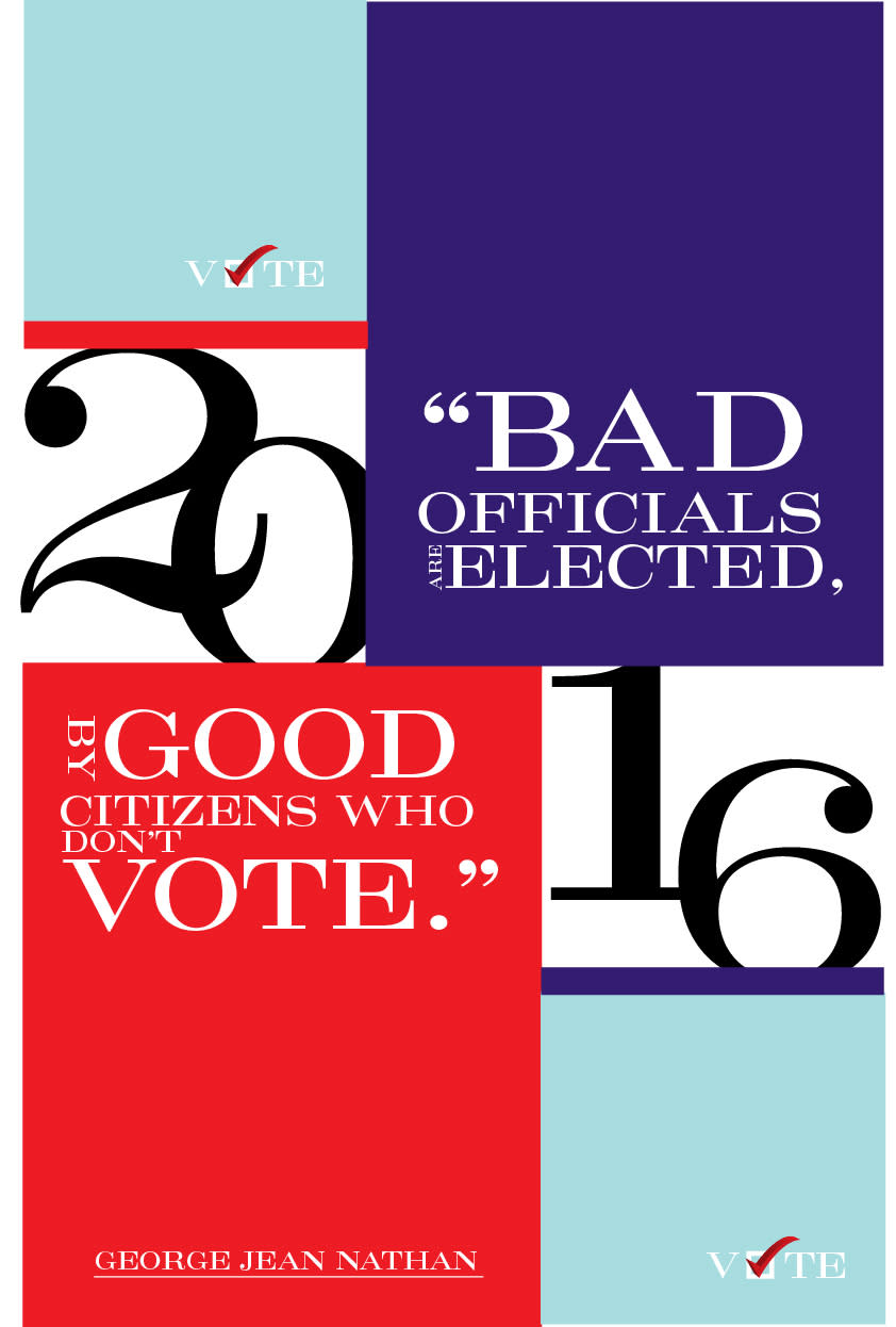 Get Out the Vote Poster