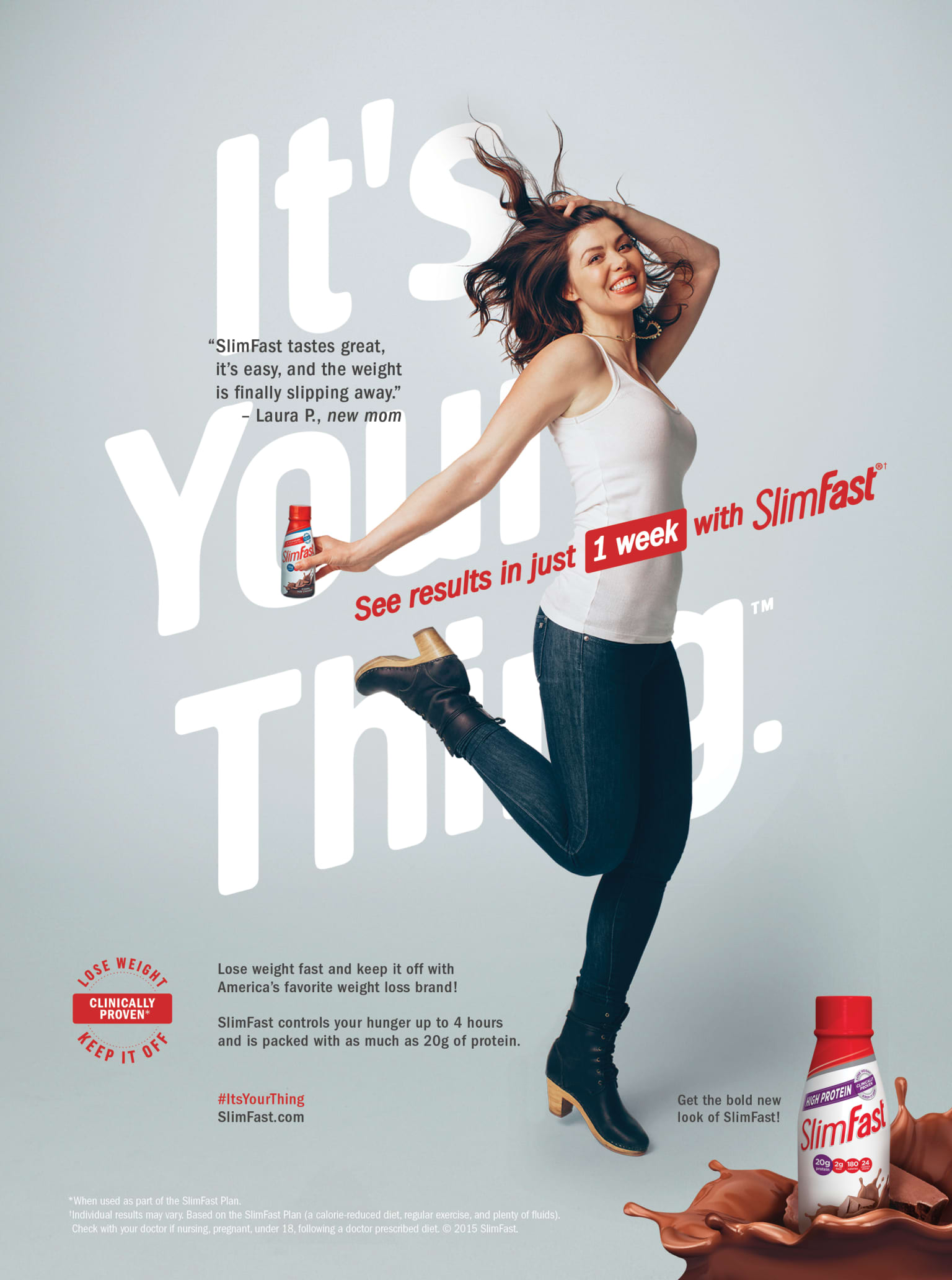 SlimFast: It's Your Thing Campaign