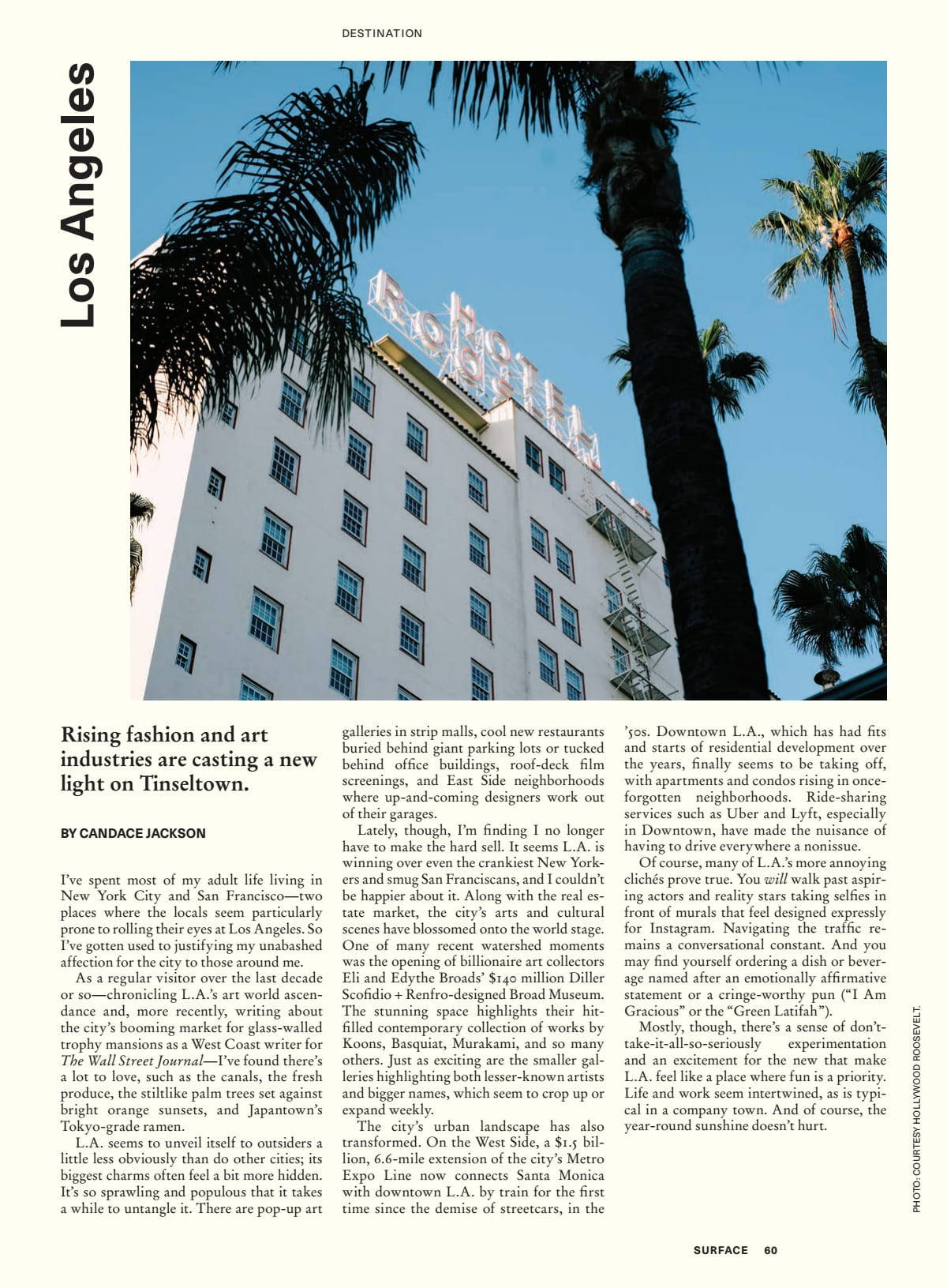 Surface Magazine -- LA story and city guide