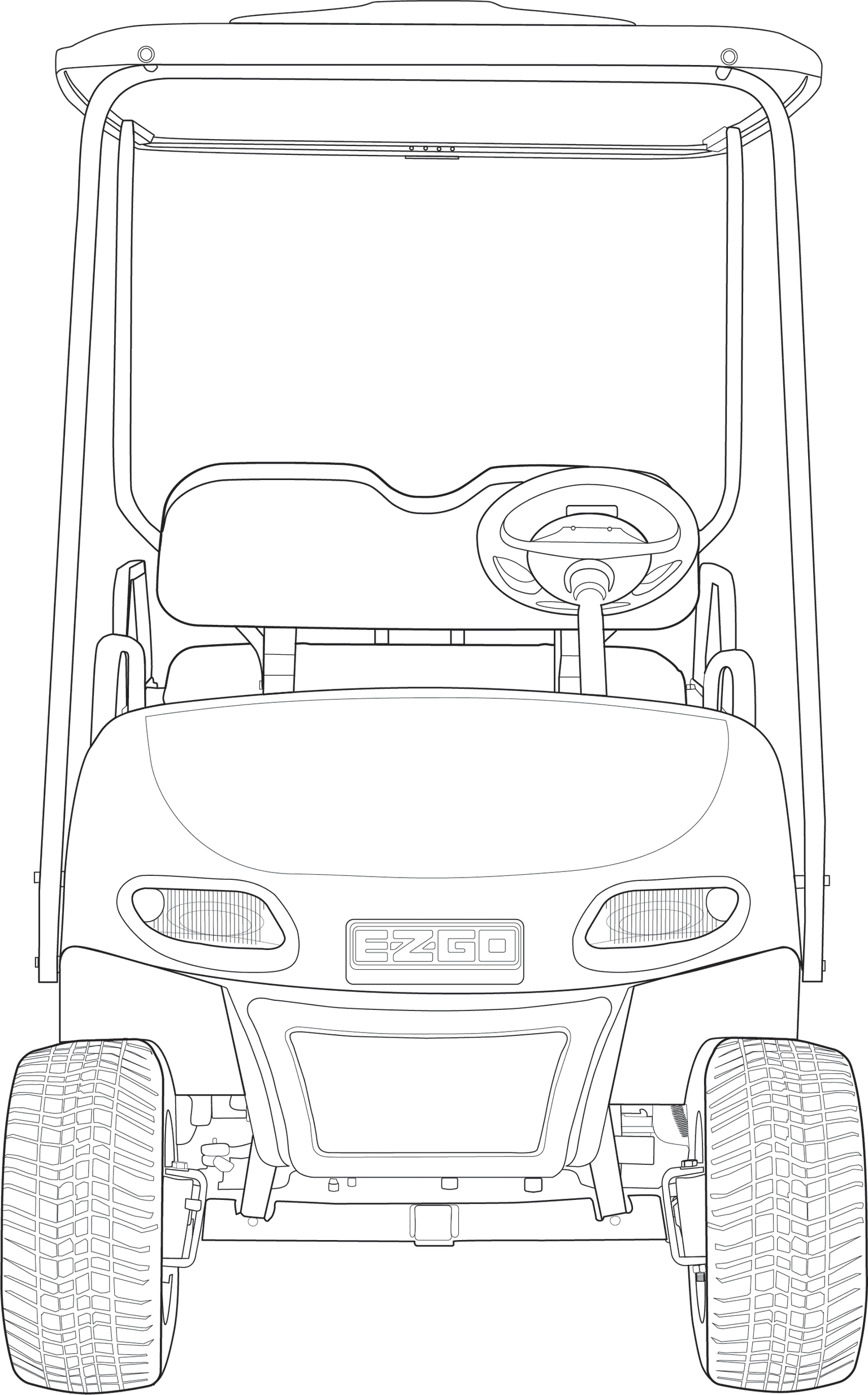 EZGO Pro Fit Schematic Drawings