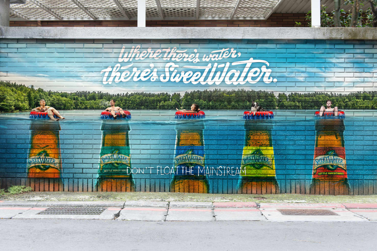 """SweetWater Brewery - """"Where there's water, there's SweetWater"""""""