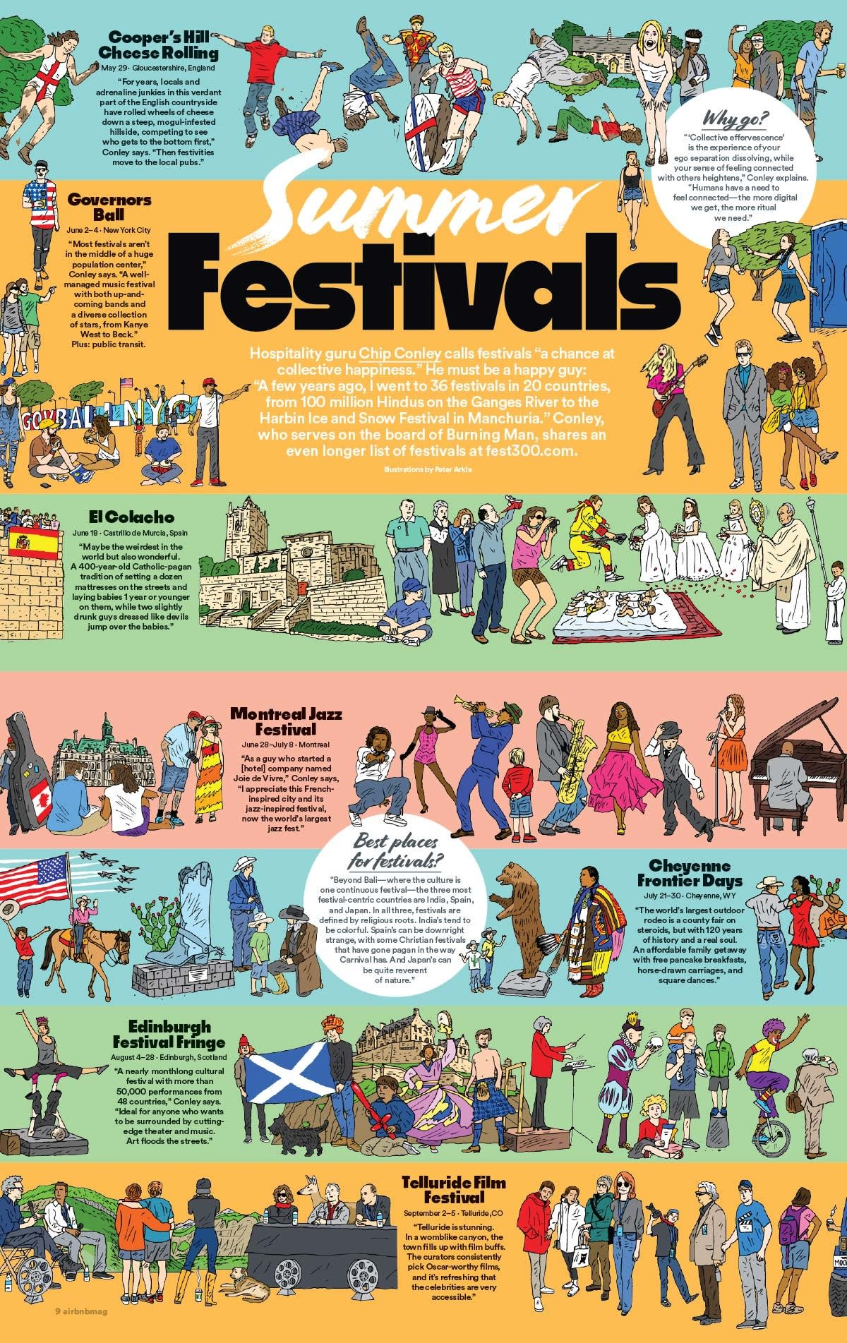 Airbnb Festival Poster