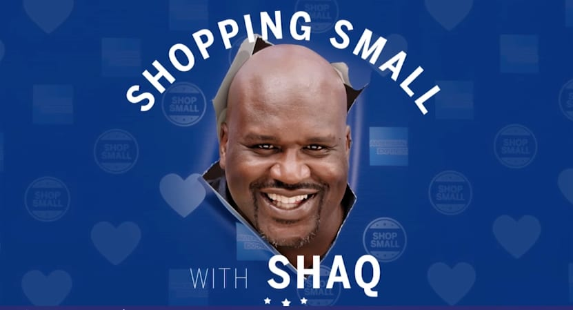 Shopping Small with Shaq