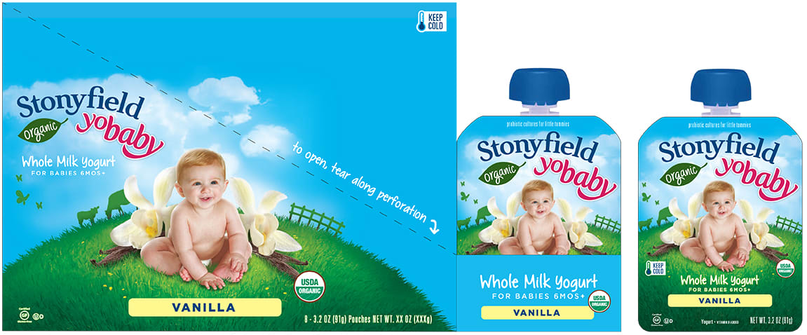 Stonyfield Farm Packaging