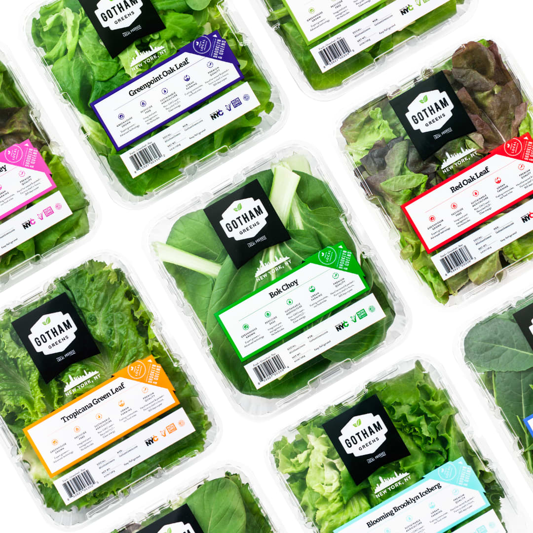 Gotham Greens Package Design