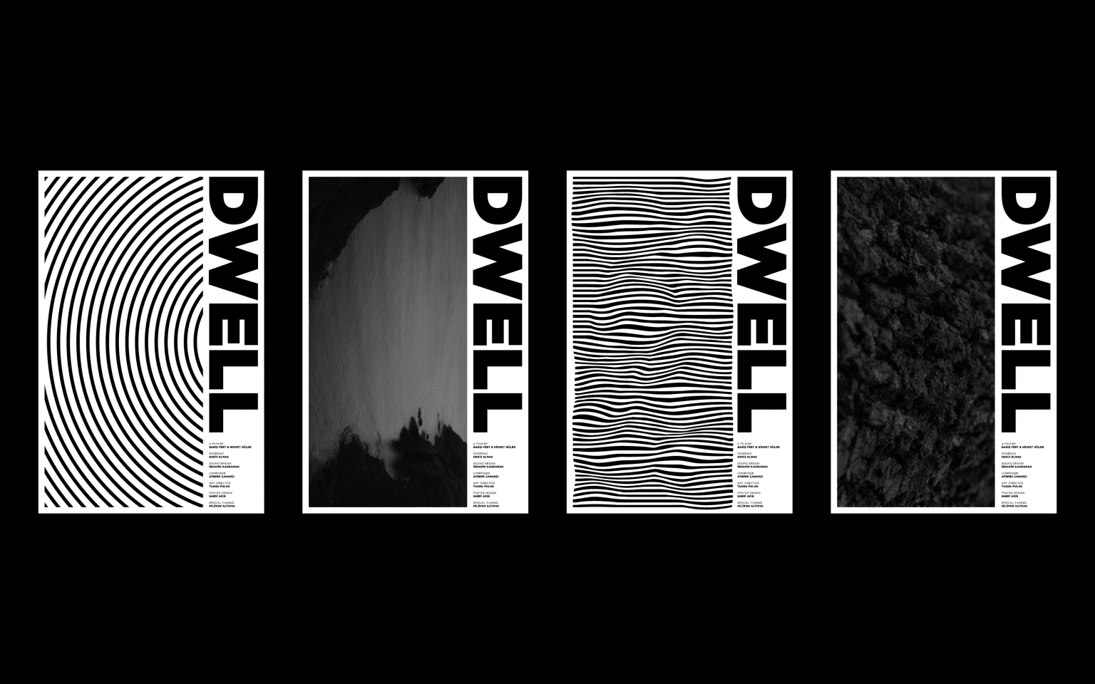 Poster Series for Dwell