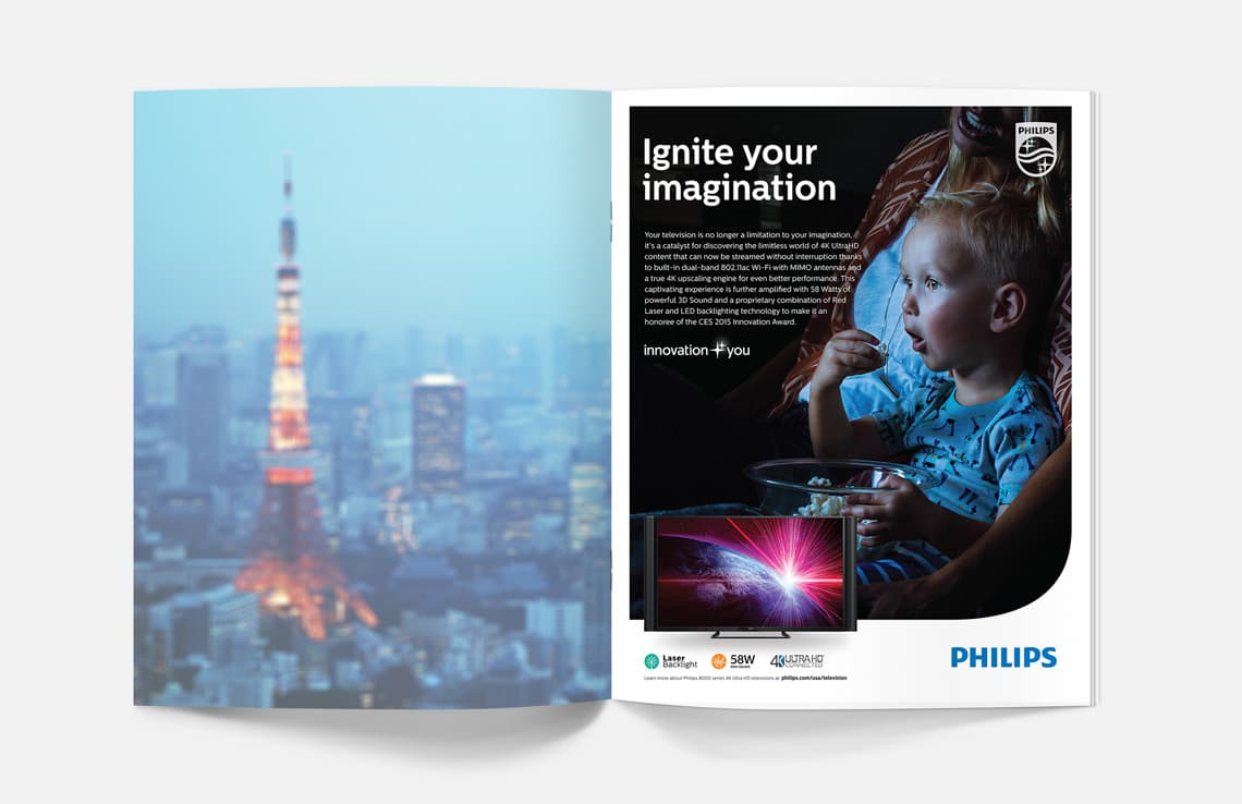 "Philips Television ""Ignite Your Imagination"" Campaign"