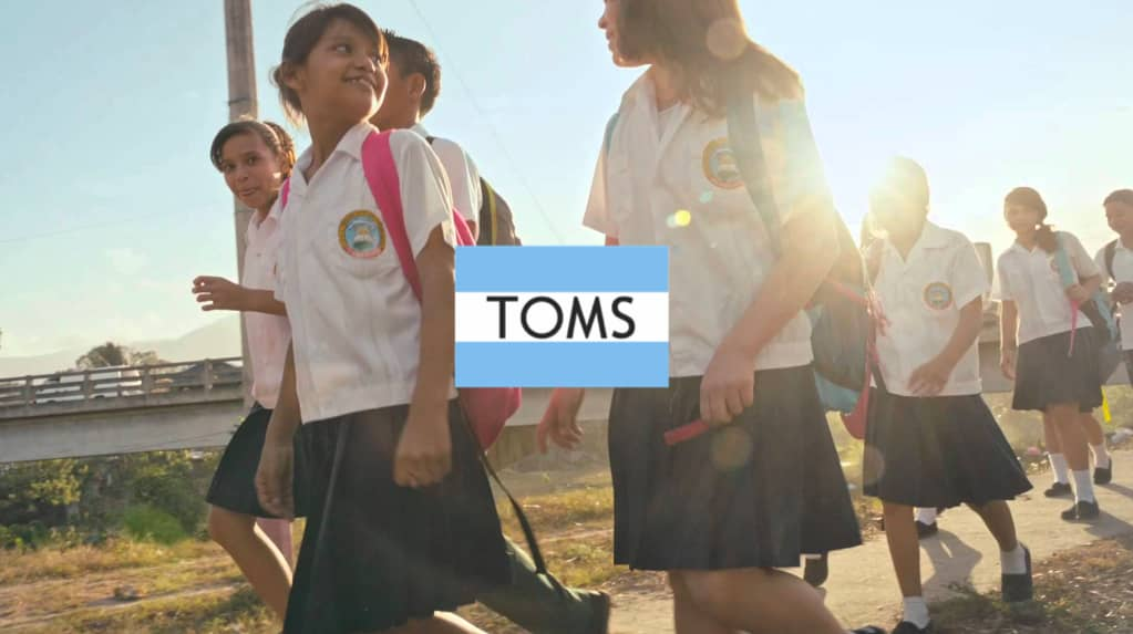 TOMS: For One, Another