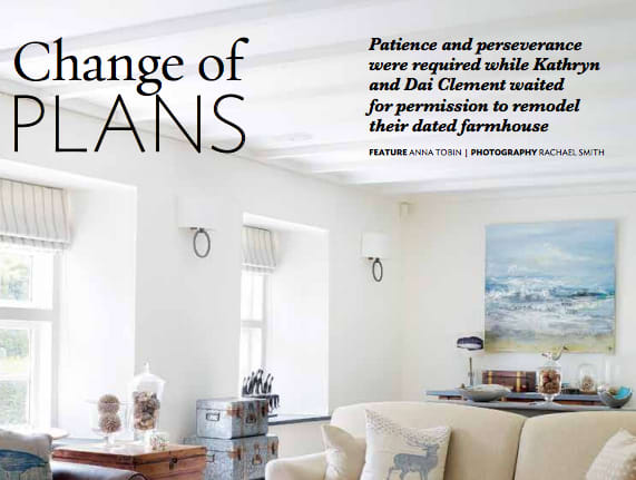 A home that I styled for an interior shoot and then wrote the accompanying feature for.