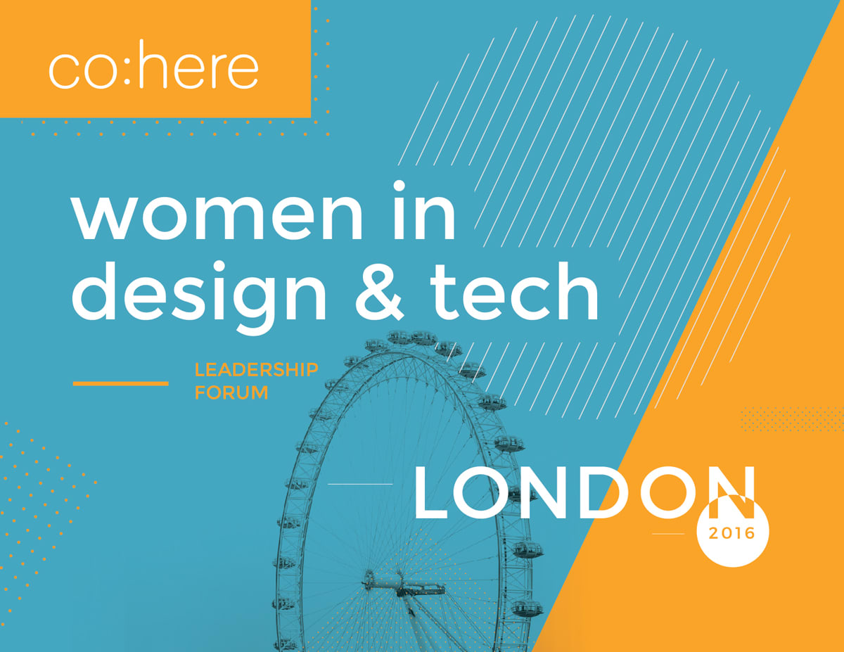 co:here — Women in Tech and Design