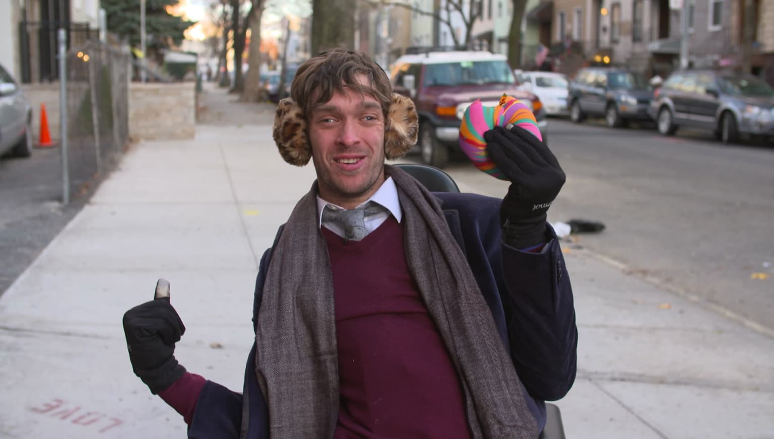 Zach Anner Quest for the Rainbow Bagel