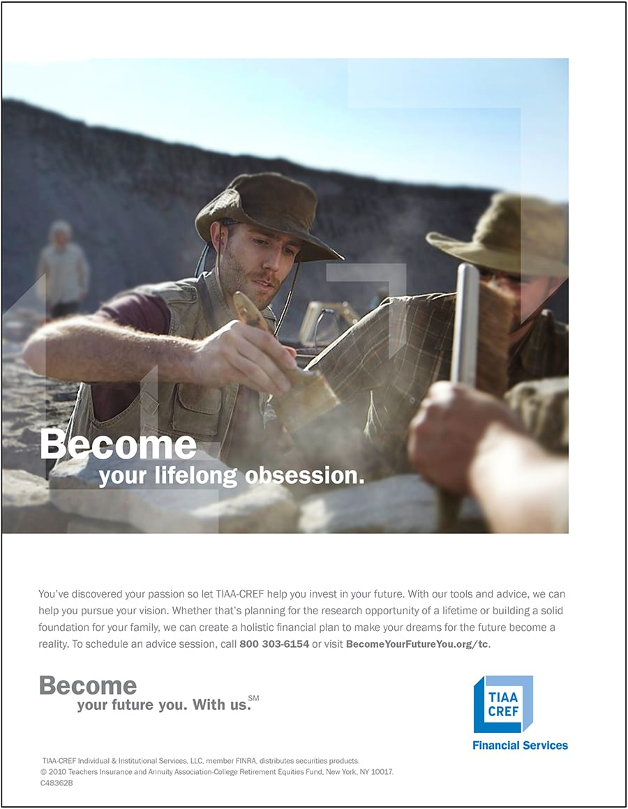 """Become Your Future You"" TIAA-CREF Integrated Campaign"