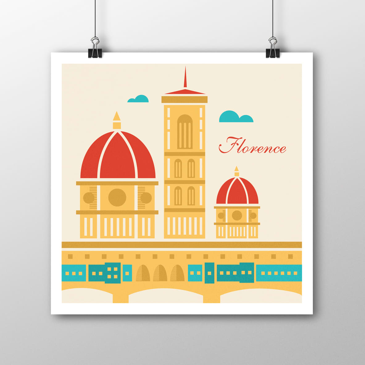 Illustrated Travel Poster Series