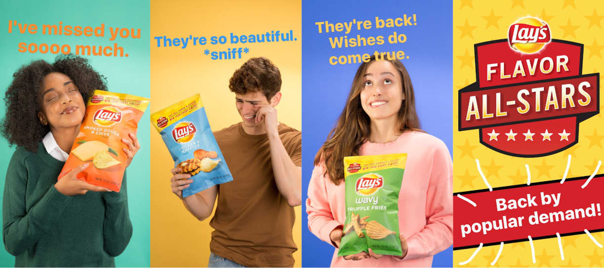Lay's - All-Stars Flavor Vault - Campaign