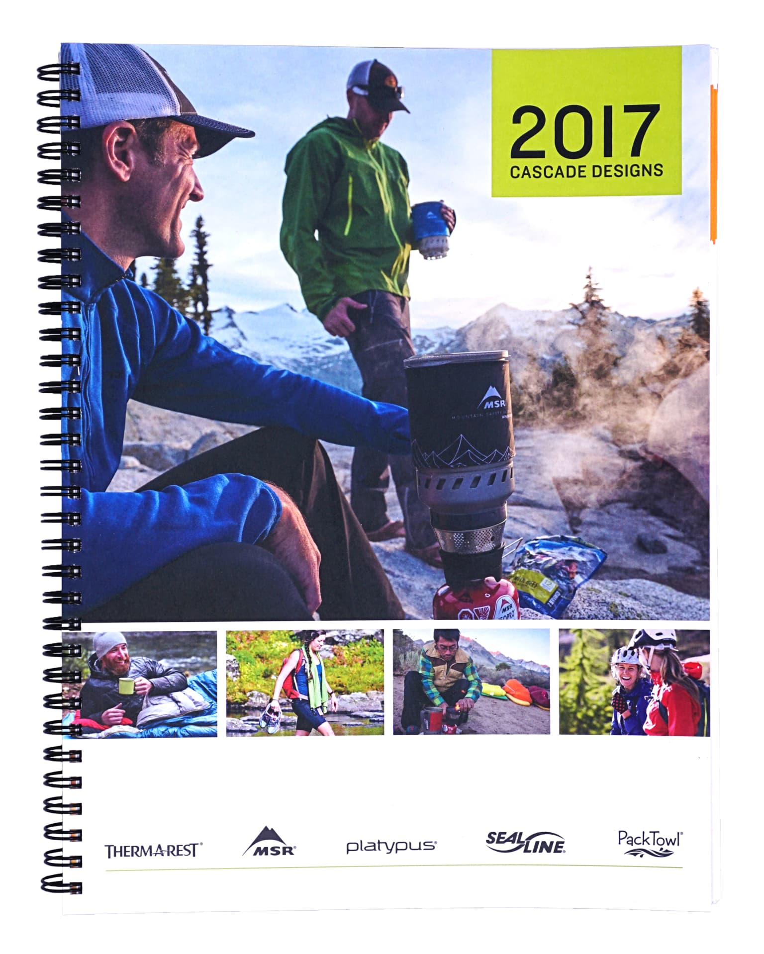 CASCADE DESIGNS 2017 WORKBOOK