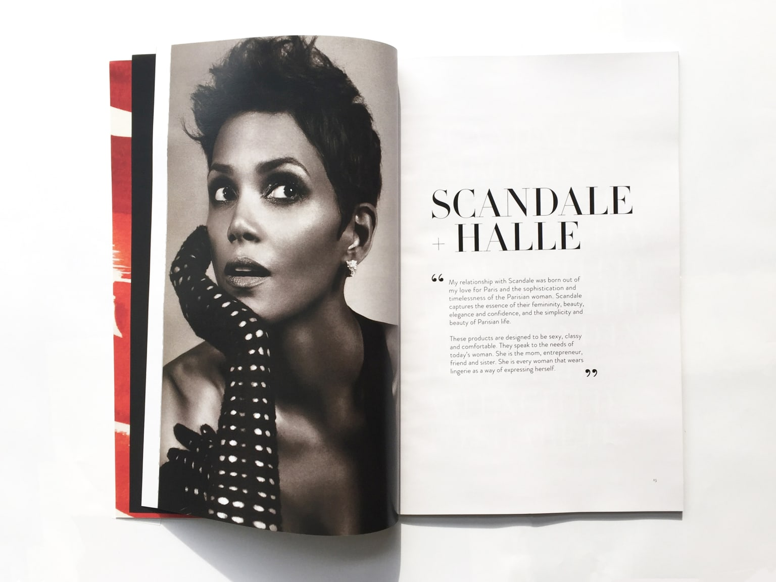 Scandale by Halle Berry