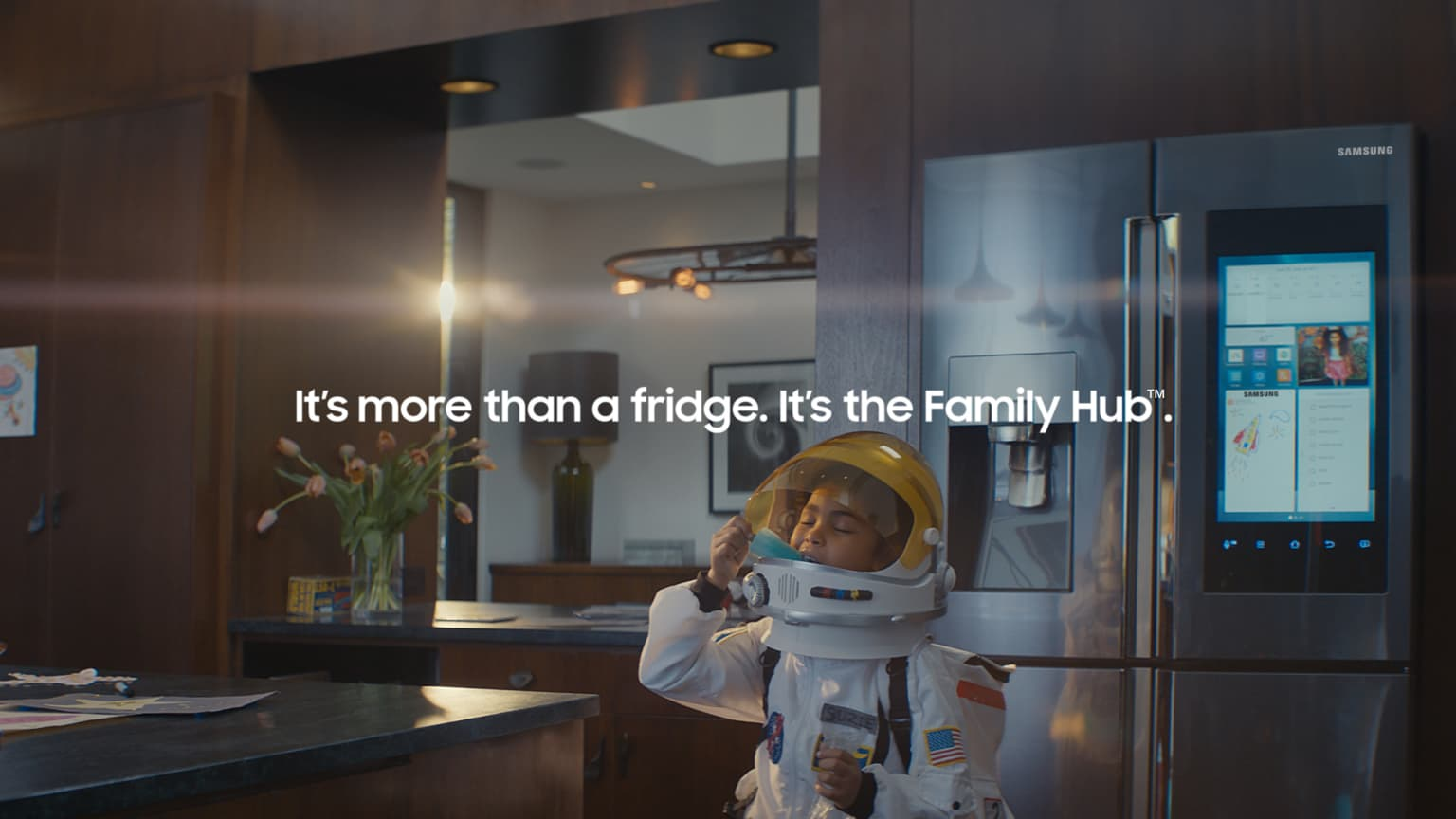"Samsung ""Family Hub"" Three Spot Campaign ""Little Suzie"" ""Milk"" and ""Singer"""