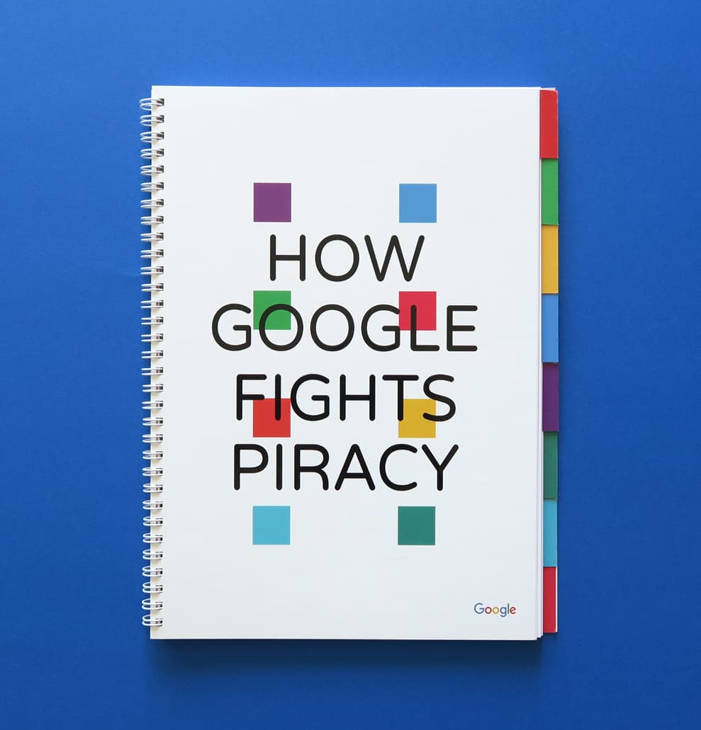 How Goggle Fights Piracy