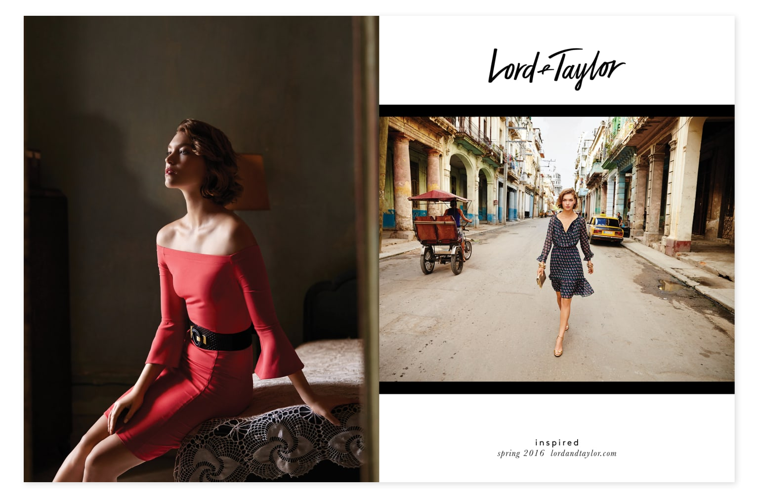 Lord & Taylor Spring 2016