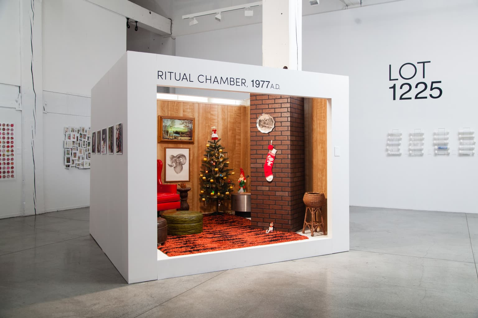 Wieden+Kennedy HQ Holiday Pop-Up Museum (Interactive Installation)