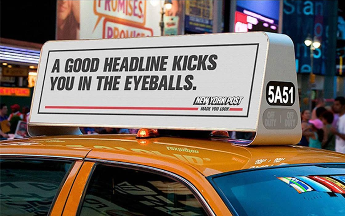 """New York Post """"Made You Look"""""""