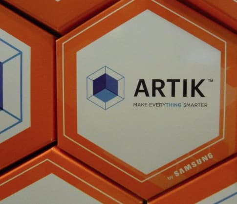 SAMSUNG ARTIK product launch – slogan and packaging