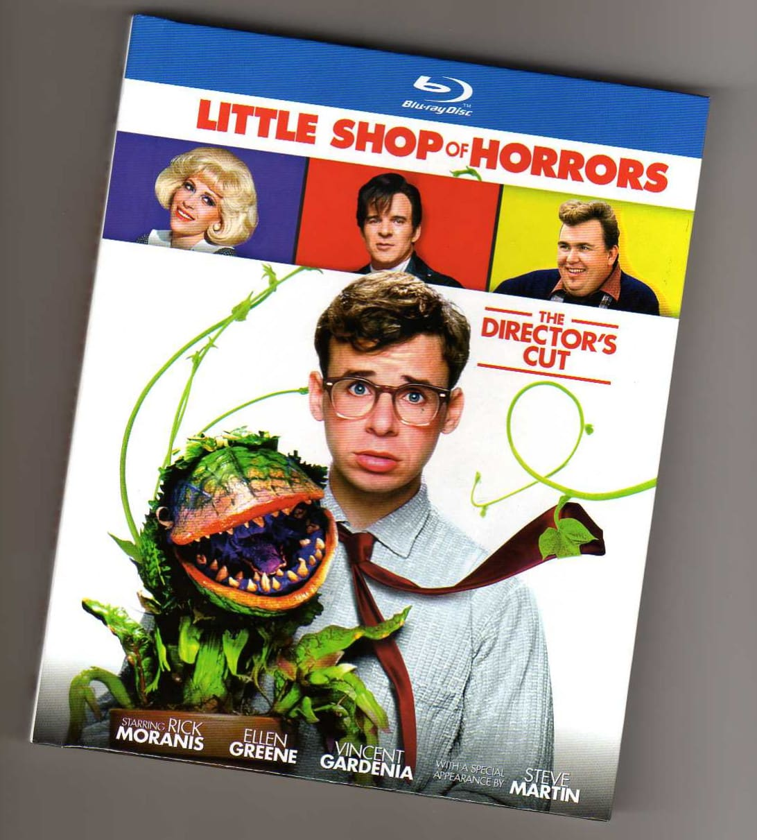 Little Shop of Horrors — Blu-ray packaging booklet