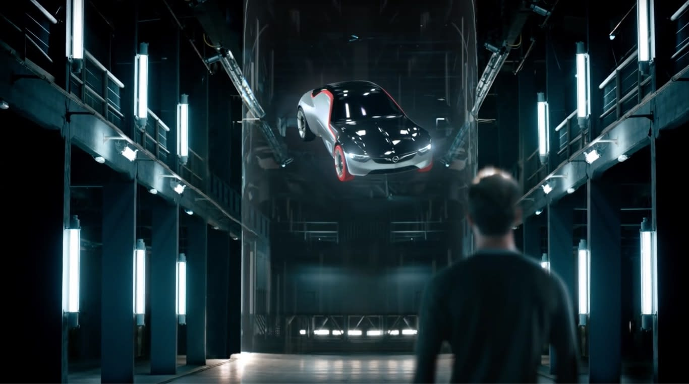 TEASER CAMPAIGN FOR THE OPEL GT CONCEPT.