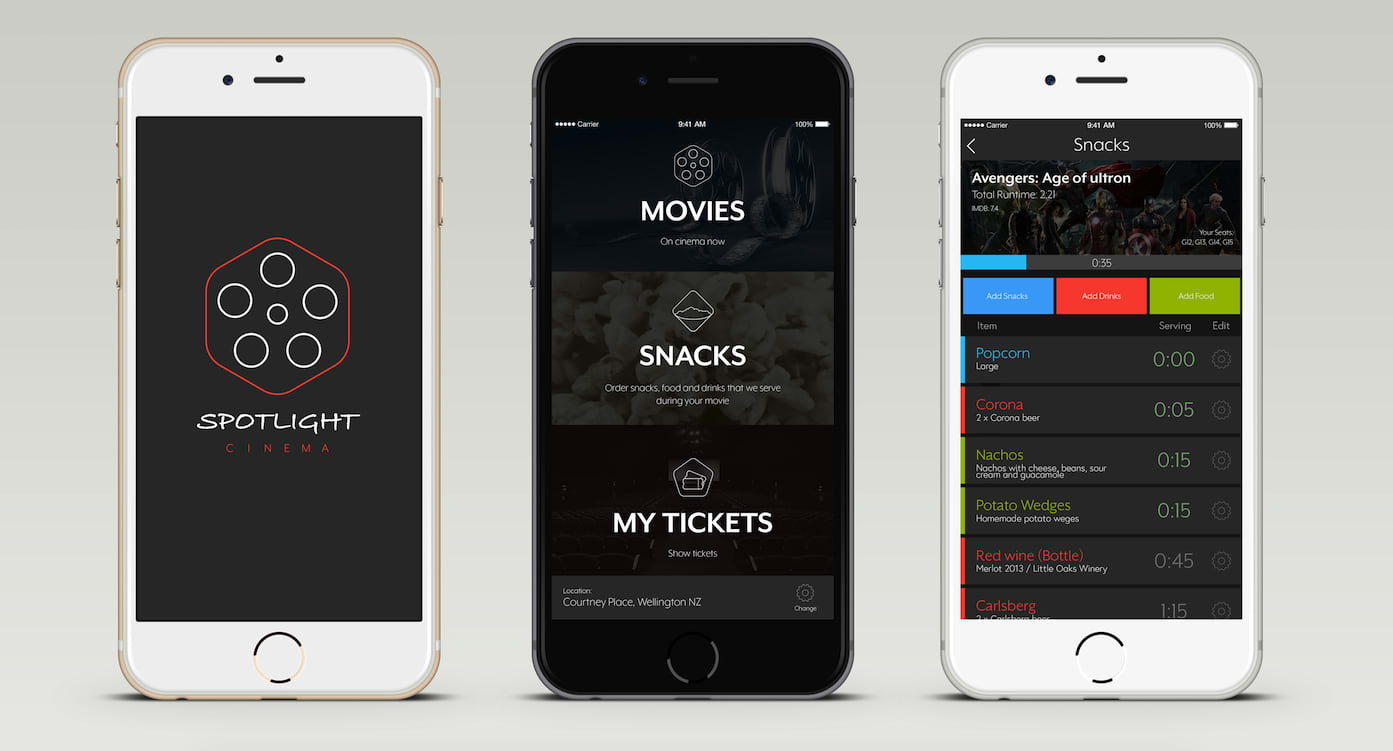 Spotlight Cinema App